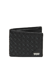 Levis Men Black Leather Wallet