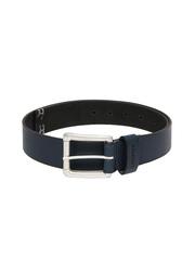 Levitate Men Blue Leather Belt