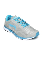Li-Ning Men Grey Super Light Running Shoes