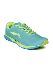 Li Ning Men Florescent Mint Green SUPER LIGHT Running Shoes