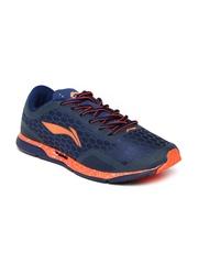 Li Ning Men Navy & Grey SUPER LIGHT Running Shoes