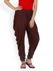 Libaas Women Coffee Salwar Pants