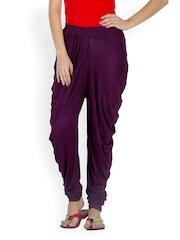 Libaas Women Purple Salwar Pants