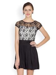 Liebemode Women Black Fit & Flare Dress