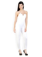 Liebemode Women White Jumpsuit