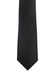 Lino Perros Black Zipper Tie