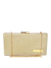 Lino Perros Gold-Toned Box Clutch