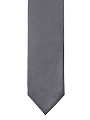 Lino Perros Grey Zipper Tie