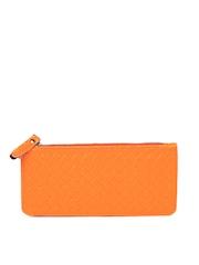 Lino Perros Women Neon Orange Wallet