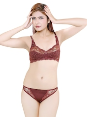 Brown Lingerie Set ALTIMA Little Lacy