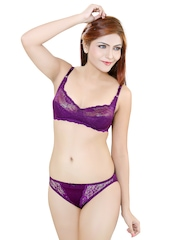Purple Lingerie Set ALTIMA Little Lacy