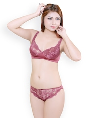 Mauve Lingerie Set Little Lacy 540708