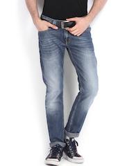 Locomotive Men Blue Slim Fit Jeans