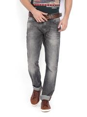 Locomotive Men Grey Slim Fit Jeans