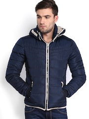 Locomotive Men Navy Padded Jacket