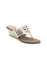 Lords Women Silver-Toned Wedges