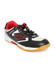 Lotto Men Black Jumper IV Sports Shoes