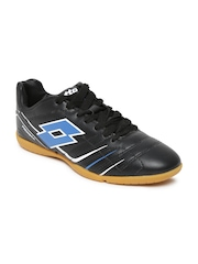 Lotto Men Black PROXIMA ID Sports Shoes