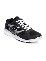 Lotto Men Black Rapture Sports Shoes