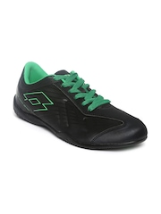 Lotto Men Black Zhero II Sports Shoes