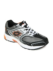 Lotto Men Black & Grey Vienna IV Sports Shoes