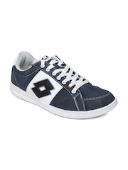 Lotto Men Greyish Blue Classe II Casual Shoes