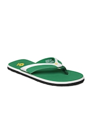 Lotto Men Green Sandals
