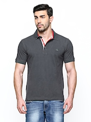 Lotto Men Grey Doug PQ STP Polo T-shirt