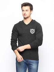Lotto Men Grey LIVIO Wool Blend Sweater