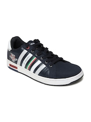Lotto Men Navy & White Grant Casual Shoes
