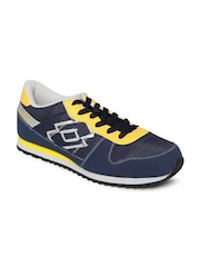 Lotto Men Navy Record Sports Shoes