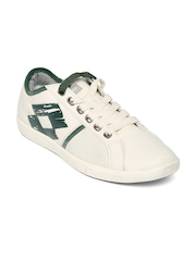 Lotto Men Off-White Casual Shoes