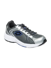 Lotto Men Silver Toned & Grey Play Sports Shoes