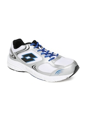Lotto Men White Antares III Running Shoes