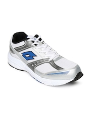 Lotto Men White Antares IV Running Shoes