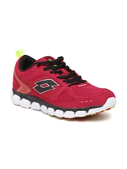 Lotto Men Red Sports Shoes