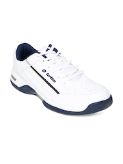 Lotto Men White CLASSICA III Sports Shoes