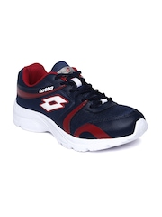 Lotton Men Navy Pacer Running Shoes