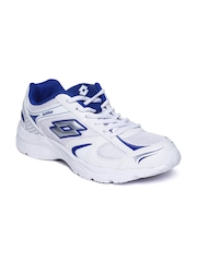Lotto Men White Trojan Running Shoes