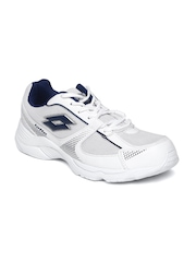 Lotto Men White Pounce Running Shoes