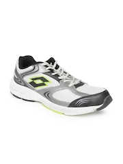 Lotto Men Silver-Toned Antares III Running Shoes