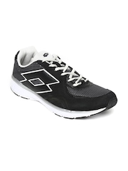 Lotto Men Grey & Black SUNRISE II Sports Shoes