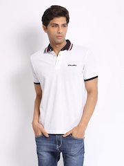 Lotto Men White Brett Polo T-shirt