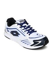 Lotto Men White Speedride Running Shoes