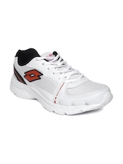 Lotto Men White Tracker Running Shoes