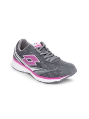 Lotto Women Grey Moon Five III Sports Shoes