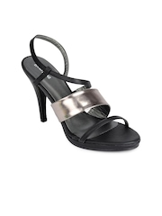 Lotus Bawa Women Black Sandals