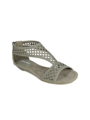Lotus Bawa Women Grey Sandals