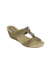 Lotus Bawa Women Light Brown Sandals