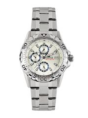 Lotus Men Silver Toned Dial Watch 15301/1